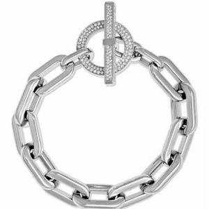 ✨Michael Kors Pave City Toggle Bracelet silver✨
